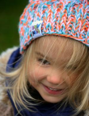 Czapka SMILE kids Jabłuszka