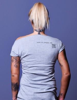 Gray t-shirt for girls