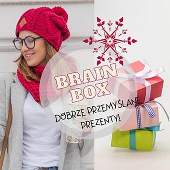 Brain Box prezenty świąteczne dla Firm małe