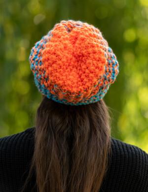 NEVERLAND Cieniowany Pomarańczowe Błękity